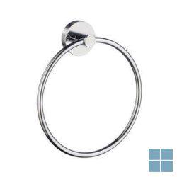 Smedbo home handdoekring chroom | HK344 | LAMO