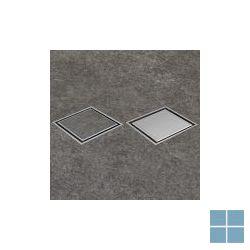 I-drain square rooster plano mat / tegel | IDROSQ0150A | LAMO