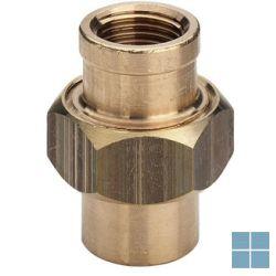Viega brons raccord dia 4/4ff | K34044 | LAMO