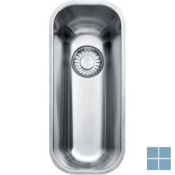 Franke largo onderbouw-glad 184x414mm inox (os) | LAX110160D1 | LAMO