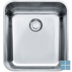Franke largo onderbouw-glad 384x414 mm inox | LAX1103601 | LAMO