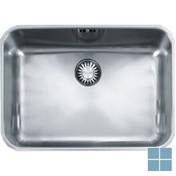 Franke largo onderbouw-glad 524x374 mm inox | LAX1105001 | LAMO
