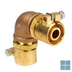 Microflex bocht 90° pe-x cv/koeling 50x50x4,6mm | MJ905046 | LAMO