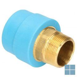 Niron ppr nippel blauw dia 40 x 5/4m | NRFM40114 | LAMO
