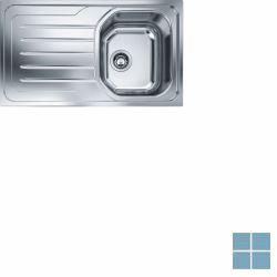 Franke onda-line inbouw-glad-omkeerbaar 860x500 mm inox | OLX6111 | LAMO