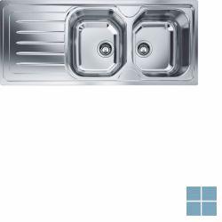 Franke onda-line inbouw-glad-omkeerbaar 1160x500 mm (os) | OLX6211 | LAMO