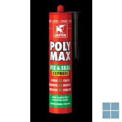 Bison/griffon polymax zwart 435 g | POLYZWART | LAMO