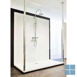 Q-panel 1320 × 2030 × 6mm acryl sanitair wit glanzend   QC601R130   LAMO