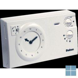 Theben/ tempolec analoge klokthermostaat 24u/7d 230v wit ram722 | RAM722 | LAMO