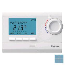 Theben/ tempolec digit klokthermostaat 24u/7d batt wit ram811top2 | RAM811TOP2 | LAMO