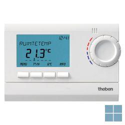 Theben/ tempolec digit klokthermostaat 24u/7d net wit ram812top2 | RAM812TOP2 | LAMO