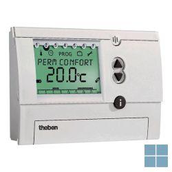 Theben/ tempolec digit klokthermostaat 24u/7d batt wit ram831top | RAM831TOP | LAMO