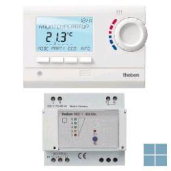Theben/ tempolec digit klokthermostaat 24u/7d batt draadloos wit ram833top2hf | RAM833TOP2HF | LAMO