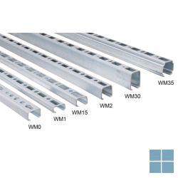 Walraven rapidrail 30 x 15 mm prijs/m lengte 2 meter | RAPIDRAIL2METER | LAMO