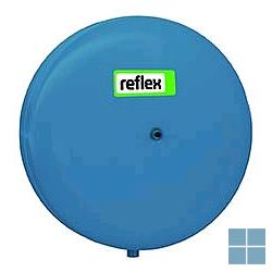 Reflex c-de 25 blauw sanitair expansievat butyl balg plat vorm  10 bar | REF7270930 | LAMO