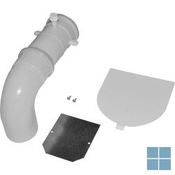 Remeha set uitgang rookgasafvoer achteraan (b23-b23p) | RMH100017720 | LAMO
