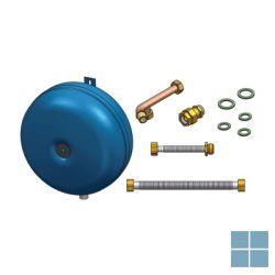 Remeha set sanitair expansievat 8 liter inclusief leiding | RMH100018204 | LAMO