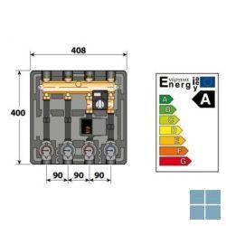 Remeha thermax compacte hydraulische module voor twee cv- kringen (os) | RMH100020169 | LAMO