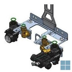 Remeha compleet frame tzerra combi met uitgebreide aansluitconsole | RMH7601769 | LAMO