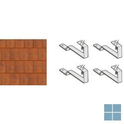 Remeha set van 4 inox verankeringsijzers voor montage op dak | RMH89807315 | LAMO