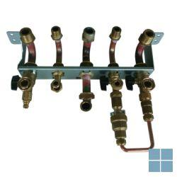Remeha initia plus combi hydraulische aansluitset incl. montageplaat   RMHSX7108665   LAMO