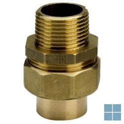 Viega soldeer brons 3 delige  koppeling dia 22 x 3/4m | RR34M22 | LAMO