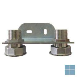 Soper koppeling 4/4 - 3/4 voor gasteller g2.5/g4 | S2031 | LAMO