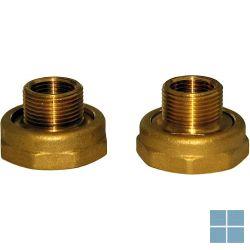 Grundfos raccord paar koppelingen koper 5/4f x 3/4f | SARAC | LAMO