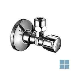 Schell hoekstopkraan met teflon 1/2m x 10 mm | SCHELL12TEFLON | LAMO