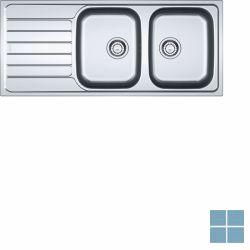 Franke spark inbouw-glad-omkeerbaar 1160x500 mm inox   SKX6211   LAMO