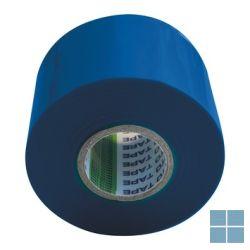 Pvc plakband / tape blauw 5 cm - 20 m (prijs/stuk) | SMBB | LAMO