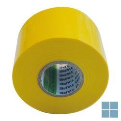 Pvc plakband / tape geel 5 cm - 20 m (prijs/stuk) | SMBG | LAMO