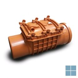 Pvc terugslagklep staufix 110 (os) (bij ventilatie) | STAUFIX110 | LAMO