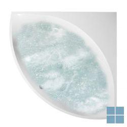 V&b squaro systeemhoekbad 145x145 duo combipool comfort rechts quaryl wit | UCC145SQR3A2V01 | LAMO