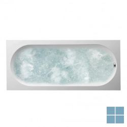 V&b oberon systeembad 180x80 solo combipool comfort links quaryl wit | UCC180OBE2A1V01 | LAMO