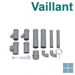 Vaillant basis kit voor 2 wandketels ′naast elkaar′ pp Ø130 | VAI0020042761 | LAMO
