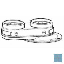 Vaillant parallelle adapter 80/80 alu-pp voor ecotec plus vc | VAI303937 | LAMO