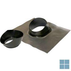 Vaillant universele dakpan met loodslab pp (zwart) voor dakdoorvoer | VAI303980 | LAMO