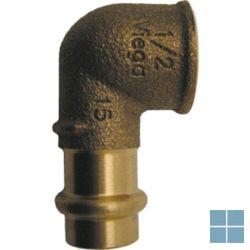 Viega profipress brons bocht 90° dia 18 x 1/2f | VB1812F | LAMO