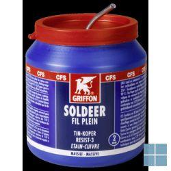Bison/griffon zachtzilver soldeer stannac 220 spoel 250 gr | VDL | LAMO