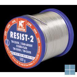 Bison/griffon zachtzilver soldeer 2 mm spoel 500 gr | VDL500 | LAMO