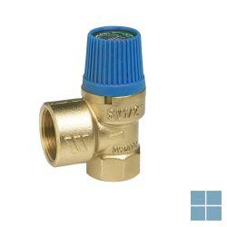 Watts veiligheidsklep sanitair 6 bar 1/2 f - 3/4 f | VKL126 | LAMO