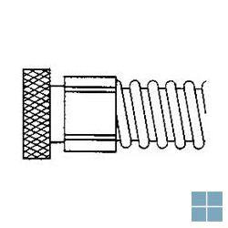 Vidoflex vrouwelijke koppeling 40mm - 6/4f | VKOPP40F | LAMO