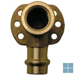 Viega profipress brons muurplaat dia 22 x 3/4f | VM2234F | LAMO