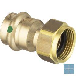 Viega profipress brons schroefkoppeling dia 22 × 4/4f | VR2244F | LAMO