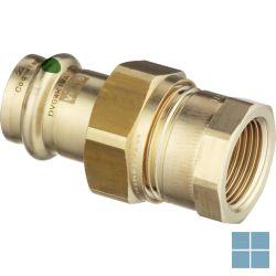 Viega profipress brons schroefkoppeling dia 28 x 4/4f | VR2844F | LAMO
