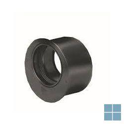 Wavin pp reductie zwart dia 50 x 32 m/f | WVR53 | LAMO