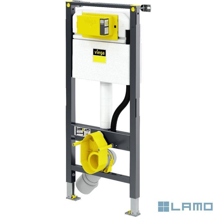 Viega prevista wc-element met pp afvoerbocht en bevestiging   798772   LAMO