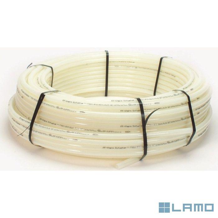 Begetube difustopbuis pe-xa 18x2 mm rol 600m prijs/m (1800m/pal)   811.290.600   LAMO