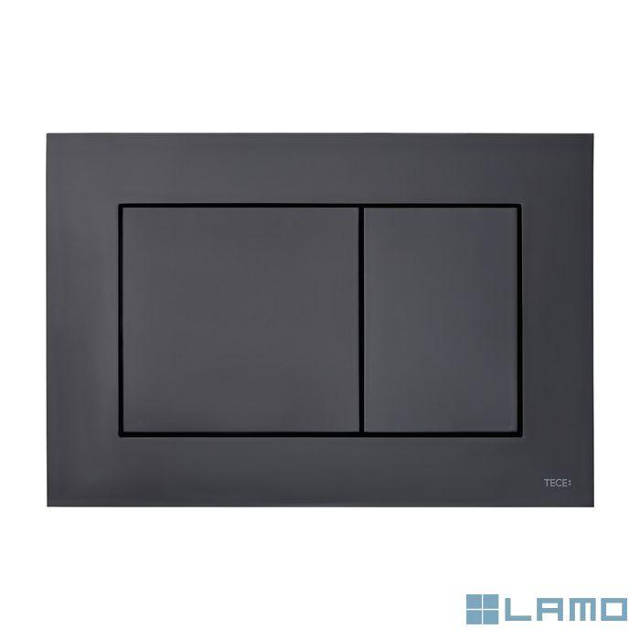 Tecenow duwplaat kunststof mat zwart | 9240407 | LAMO